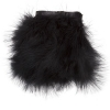 Marabou Trim 6In Aprox. 20g 1Yd Black
